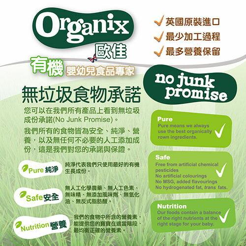 『121婦嬰用品』英國Organix 有機鮮果米糊-蘋果120g(4個月以上) 2