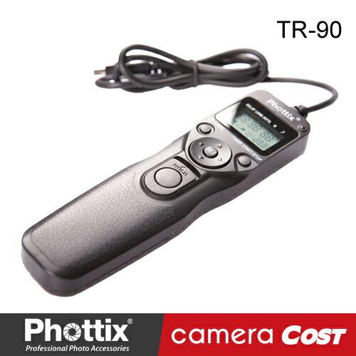 【爆殺大降價】Phottix TR-90 定時遙控器 S8 / N8 / N10 / C6 / C8 縮時攝影 B快門
