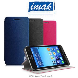 IMAK Asus ZenFone 6 樂系列皮套 (松鼠紋)可站立皮套 保護殼 保護套【馬尼行動通訊】