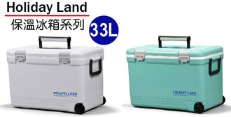 【RV運動家族】日本伸和 Holiday Land 冰桶 33L