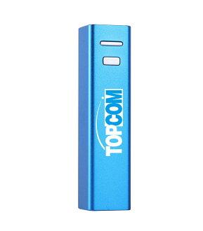 Topcom 輕巧行動電源--隨時隨地滿滿電力~藍色下標區