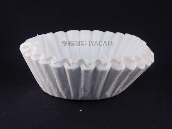 《愛鴨咖啡》商用 大型 美式咖啡機 濾紙 蛋糕型濾紙 100張