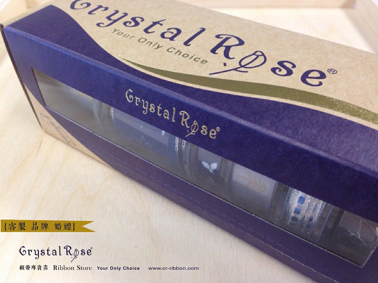 【Crystal Rose緞帶專賣店】白紗新娘緞帶禮盒(6入) 4