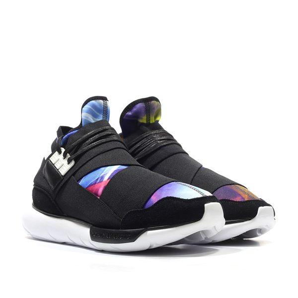 【蟹老闆】adidas Y-3 QASA HIGH 黑藍彩 星空 渲染 忍者鞋 休閒運動鞋 男段