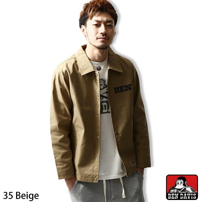 夾克 教練外套 復古風  BEN DAVIS 日本男裝 超商取貨 zip-tw【g-5780022】