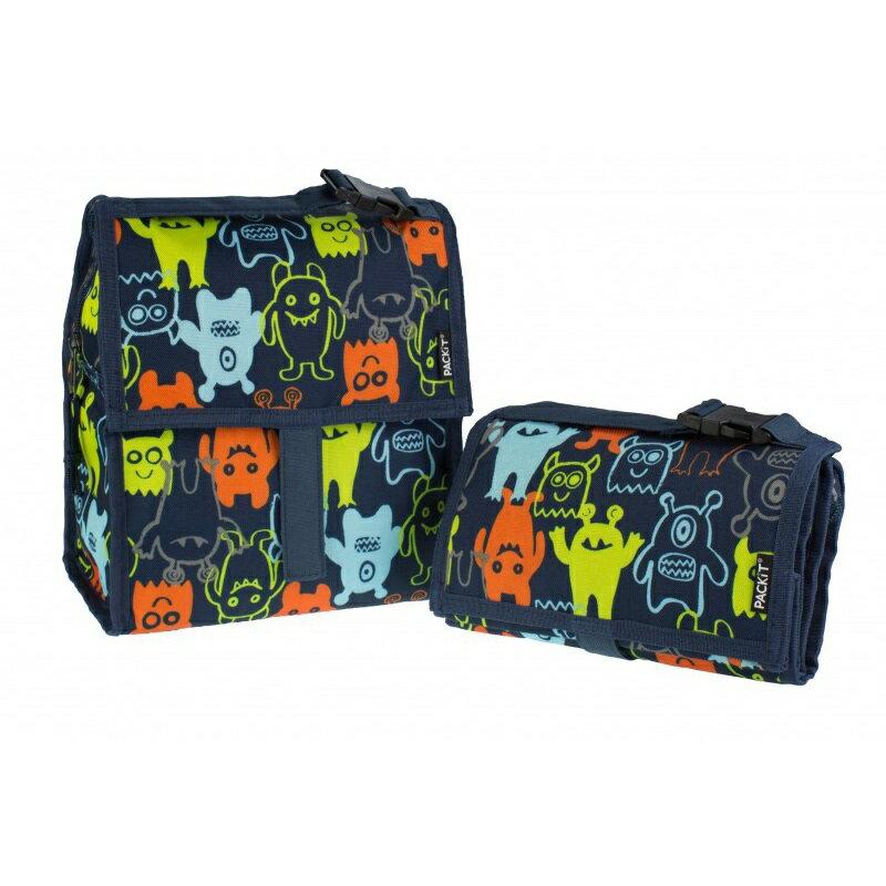 美國 【PACKiT】2016新款 冰酷 多功能冷藏袋(深藍怪物) 0