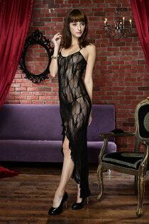 【IMPULSE】台灣製造.歐美熱銷款 開店全面特價中↘ J3116 大蝴蝶優雅長洋裝型性感睡衣