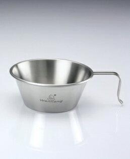 【露營趣】中和 文樑 大白金碗 不鏽鋼杯 大口碗 304材質 不鏽鋼碗 ST-2025 同 UNRV質感