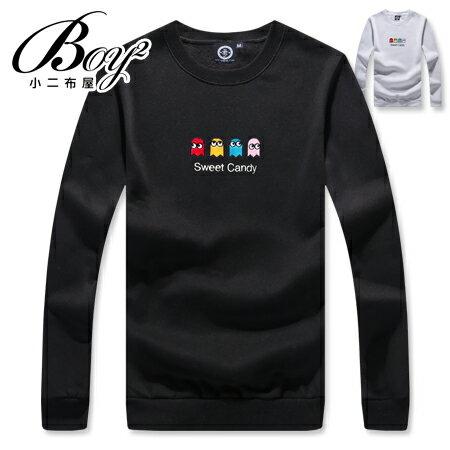 ☆BOY-2☆ 【KK6855】休閒俏皮小精靈圓領長袖T恤 0