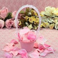 婚禮小物推薦到一定要幸福哦~~花童籃、婚禮小物、花瓣