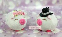 婚禮小物推薦到一定要幸福哦~~幸福可愛豬、婚禮小物、送客禮