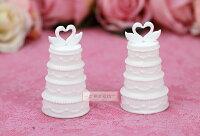 婚禮小物推薦到一定要幸福哦~~天鵝蛋糕造型泡泡水、派對、生日、婚禮小物、泡泡水