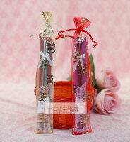 婚禮小物推薦到一定要幸福哦~~箸福筷嫁不銹鋼系列(紗袋版)、婚禮小物、姐妹禮