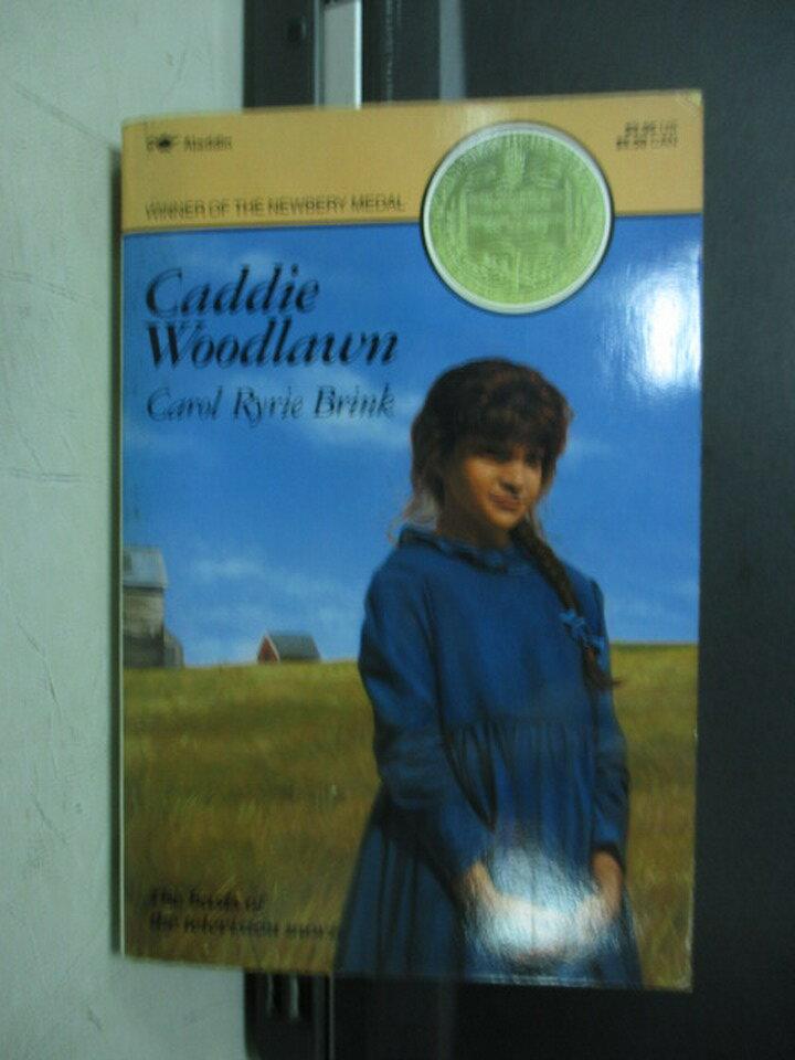 ~書寶 書T6/原文小說_NMM~Caddie Woodlawn_1962 ~  好康折扣