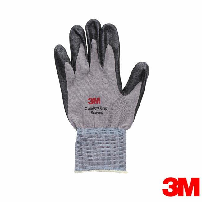 3M 亮彩舒適型止滑/耐磨手套~灰色