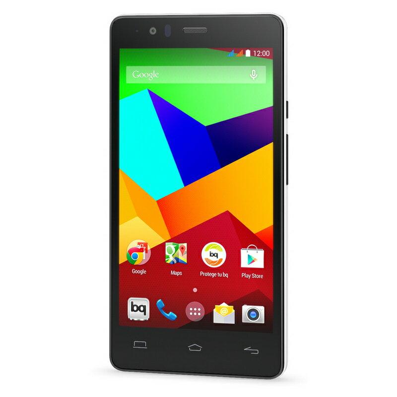 BQ AQUARIS E5 4G 8GB NEGRO/BLANCO - SMARTPHONE LIBRE 2
