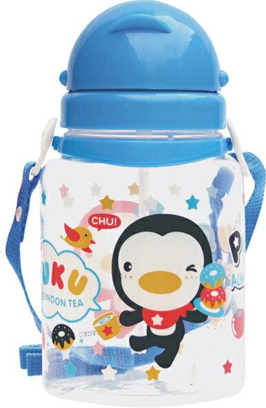 PUKU藍色企鵝 - 滑蓋水壺 800cc (水藍/粉紅) 3