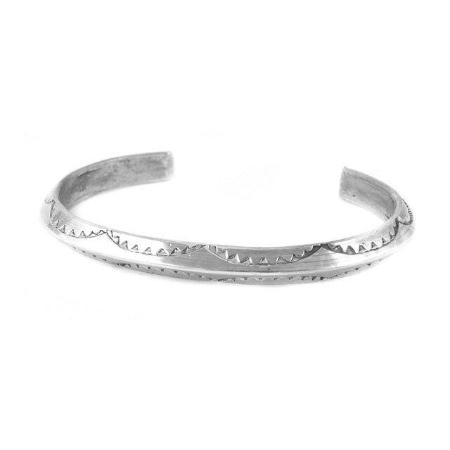 【現貨商品】【Indian Jewelry】印地安圖騰三角形手鐲(花紋隨機出貨)(Navajo-040) 5