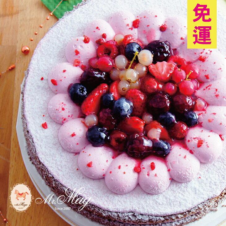 仲夏酸甜❤最美味莓果花