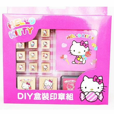 【敵富朗超巿】KITTY二代DIY盒裝印章組 3