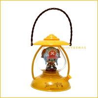 asdfkitty可愛家☆航海王/海賊王喬巴油燈造型小夜燈/燈籠-黃色-電池式-日本正版商品
