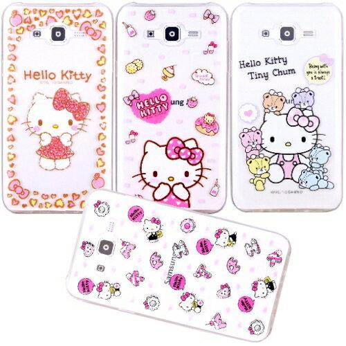 ~Hello Kitty~Samsung Galaxy J7  SM~J700 立體彩繪透