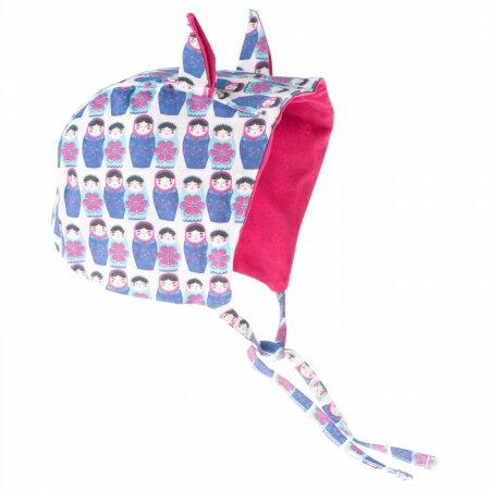 ★衛立兒生活館★英國 POCONIDO 造型耳朵嬰兒帽 (俄羅斯娃娃)
