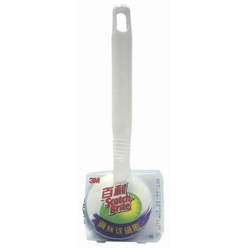 [淨園] 3M 百利鋼絲球鍋刷(單支) --可替換式鋼絲球刷頭