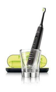 免運費 PHILIPS飛利浦 音波電動牙刷/音波震動牙刷/刷牙機 鑽石黑 HX9352