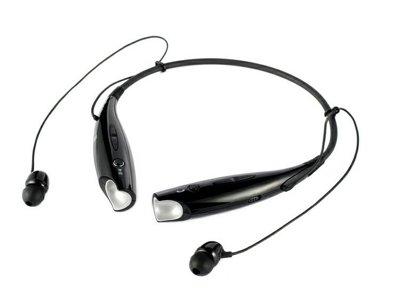 頸掛式藍芽耳機 免持 藍牙耳機 無線立體聲 可通話聽音樂 (黑/白) 蘋果 三星 LG【Parade.3C派瑞德】