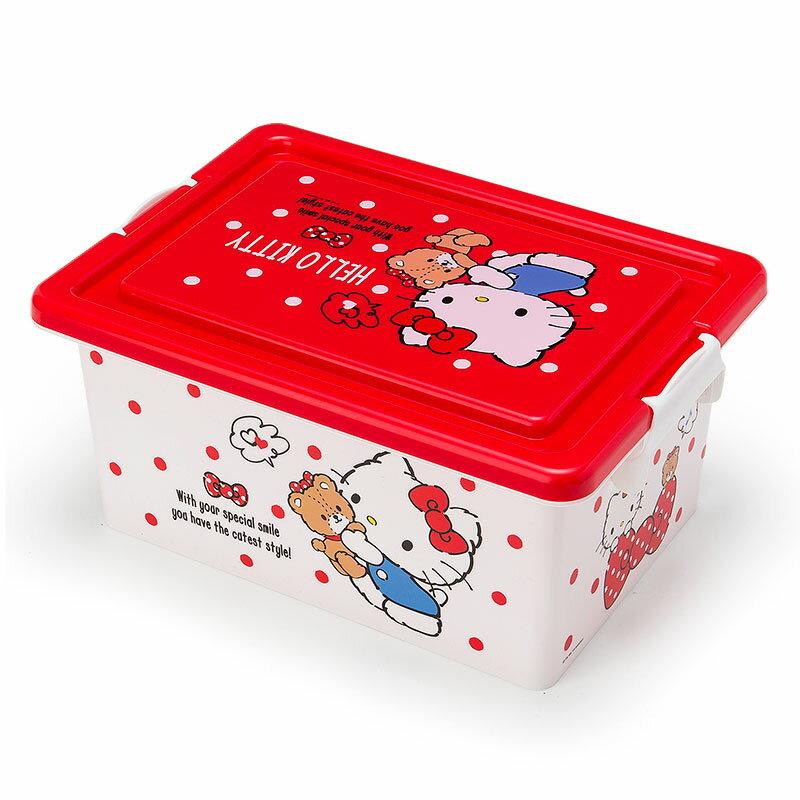 Hello Kitty 附蓋收納箱