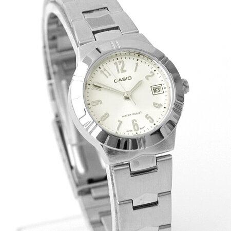 CASIO卡西歐 現代小資女小框數字石英手錶 女孩腕錶 實用日期窗 柒彩年代【NE1871】原廠公司貨 - 限時優惠好康折扣