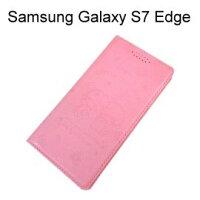 小熊維尼周邊商品推薦雙子星壓紋皮套 [粉] Samsung G935FD Galaxy S7 Edge【三麗鷗正版授權】