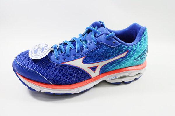 [陽光樂活] MIZUNO 美津濃 WAVE RIDER 19(W) WIDE 女寬楦慢跑鞋 J1GD160642