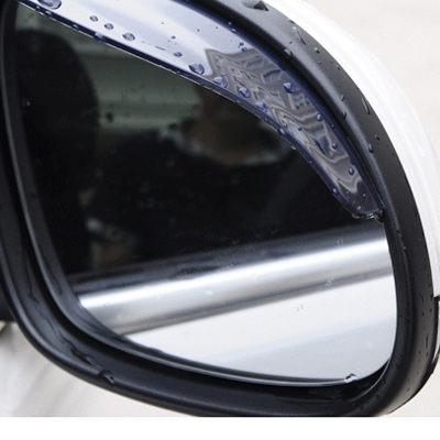 汽車後視鏡專用 遮陽板 遮雨板 導風除霧 (3M膠) 晴雨檔 雨眉 2片裝