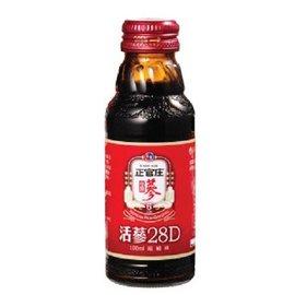 正官庄活蔘28D滋補液 100ml 8瓶/盒◆德瑞健康家◆