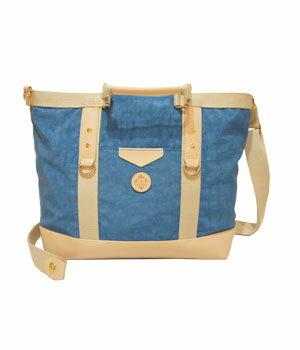 JJ007搶眼皮革造型3way包─湖水藍 1
