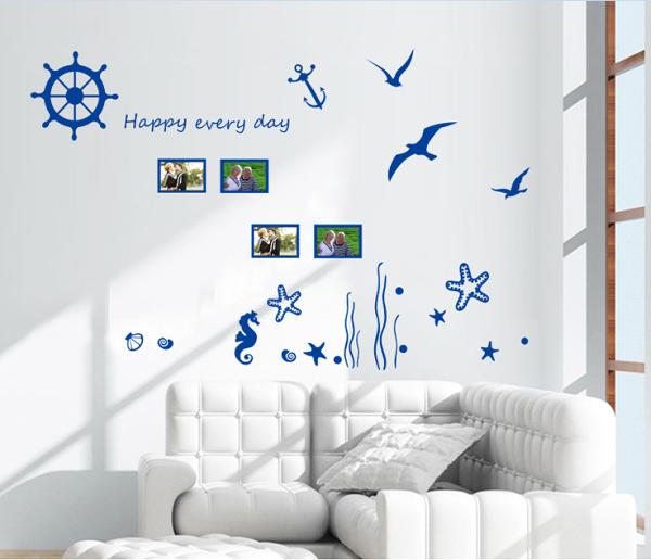 【壁貼王國】 相片貼系列無痕壁貼 《海洋 - AY6045》