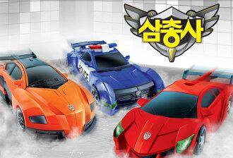 韓國進口【CARBOT 大型機器戰士Trio 超級跑車系列】