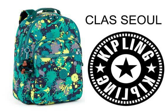 OUTLET代購【KIPLING】時尚經典Seoul旅行袋 斜揹包 肩揹包 後揹包 潑墨 0