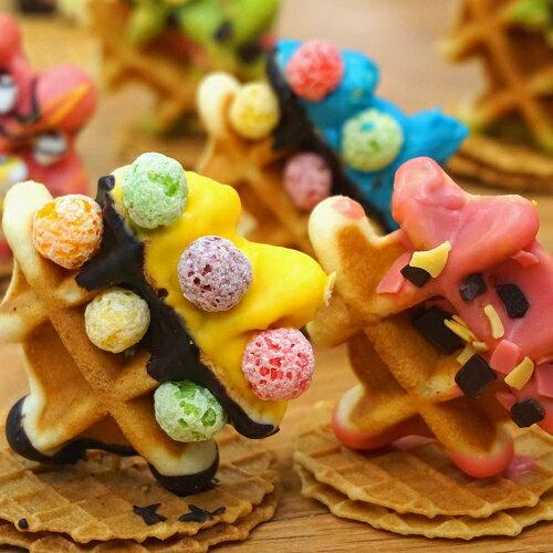 ☆每日限量【繽紛樂】☆鬆餅人☆小朋友最愛餅乾☆下午茶點心♥Tommy's Waffle