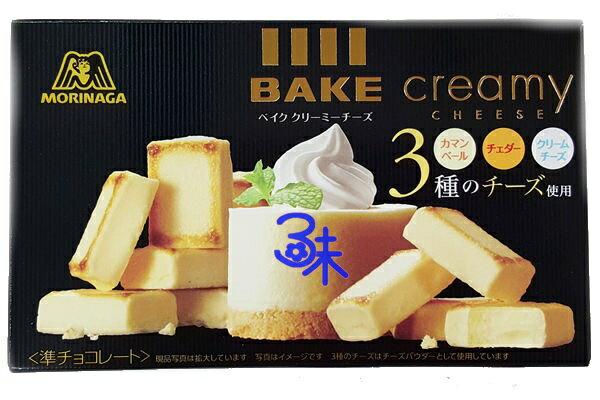 (日本)森永 BAKE 起司燒 creamy Cheese 1封 10盒 (38公克*10盒) 特價 780 元 【4902888209482】(森永BAKE起士燒 森永bake起司磚  )