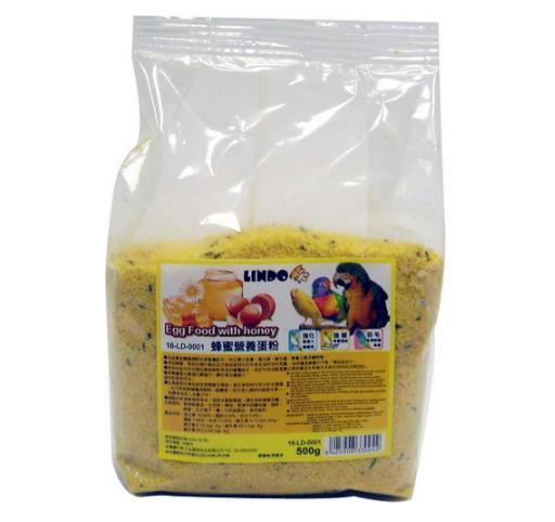 【恰恰】LINDO 鸚鵡用營養蛋粉500g 0