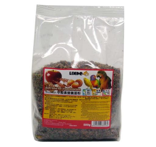 【恰恰】LINDO 鸚鵡用營養蛋粉500g 2