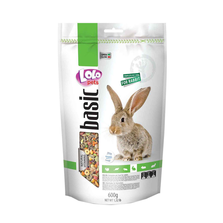 【恰恰】LOLO 營養滿分寵物兔主食600G #44-LO-70124 - 限時優惠好康折扣