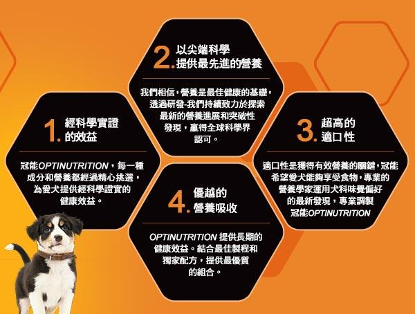 【恰恰】冠能 一般幼犬羊肉敏感消化道保健配方2.5kg 2