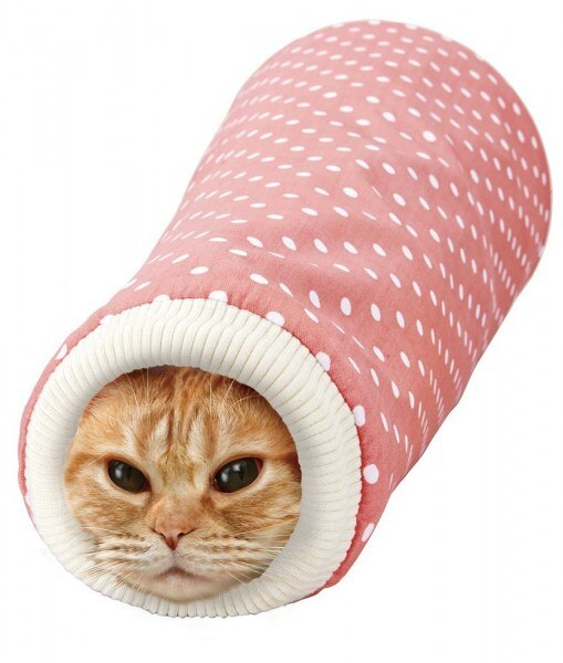 【恰恰】MARUKAN #CT-379粉/CT-380咖-瘋狂貓隧道 0