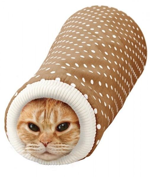 【恰恰】MARUKAN #CT-379粉/CT-380咖-瘋狂貓隧道 1