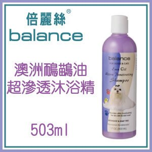 【恰恰】balance倍麗絲 澳洲鴯鶓油超滲透沐浴精
