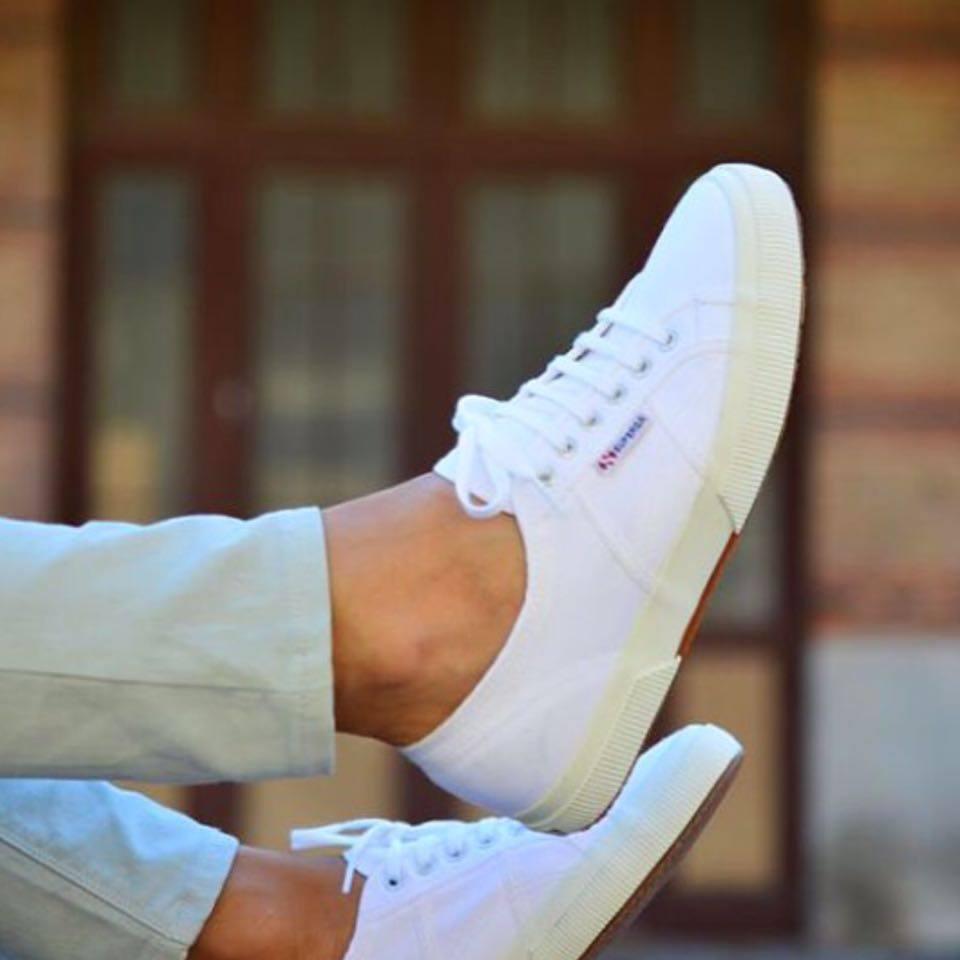 【SUPERGA】義大利國民鞋-白 5